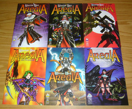 Warrior Nun Areala: Rituals #1-6 VF/NM complete series BEN DUNN bad girl comics - $8.25