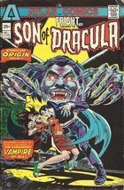 (CB-52) 1975 Atlas Comic Book: Fright #1 { 1st app Son of Dracula } - $20.00