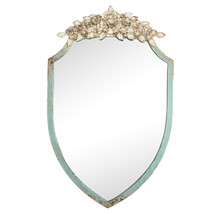 Shabby Chic Carved Ornate Mirror,28''Tall. - $262.35