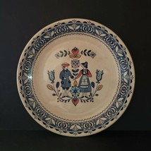 Vintage Johnson Brothers Hearts Flowers Salad Plate Staffordshire Old Granite - $14.99