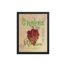 The Grapes of Wrath by John Steinbeck Book Poster - $15.00+