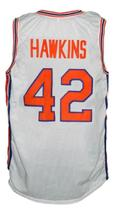 Connie Hawkins #42 Pittsburgh Pipers Retro Aba Basketball Jersey White Any Size image 2