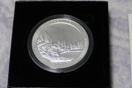 2010 P 5 oz Silver ATB Yosemite National Park .999 Silver First Year Of Issue image 5