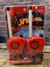 Marvel Spider-Man Walkie Talkies Nuevo Juguete - $10.39