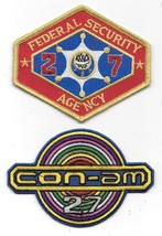 Outland Movie Logos Embroidered Patch Set of Two NEW UNUSED - $11.64