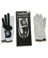 Tour Cabretta Leather Golf Glove Men, All Sizes Available - $6.89