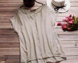 8 women short batwing sleeve ladies loose casual shirt blusa feminina solid blusas thumb155 crop