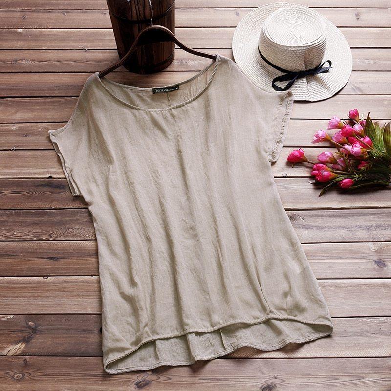 Mer blouse 2018 women short batwing sleeve ladies loose casual shirt blusa feminina solid blusas