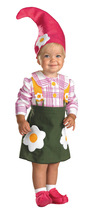Garden Gnome , Infant | Toddler's | Girls Costume , Size 2T , Free Shipping - $35.00