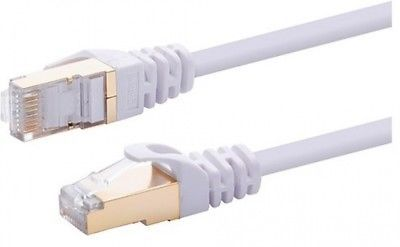 20FT S/FTP CAT 7 Gold Plated Shielded Ethernet RJ45 Cable 10 Gigabit Ethernet