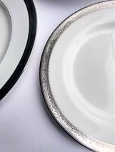 MIKASA CROWN JEWEL PLATINUM DINNER PLATE NWT - $24.99