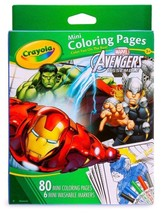 Crayola Avengers Mini Coloring Pages - $5.89