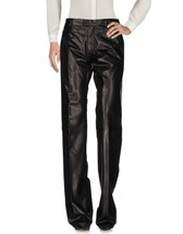 New Casual pant Stylish Women's 100% Genuine Soft  Lambskin Skin Leather Pants