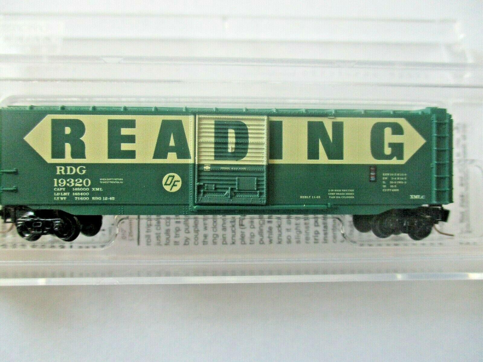 Micro-Trains # 50500462 Reading 50' Standard Boxcar Z-Scale