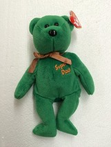 Ty Beanie Baby Dad-E 2004 Super Dad Bear - $7.15