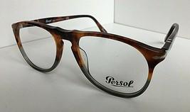 New Persol 9649-V 1023 Tortoise Fuocco e Ardesia 52mm  Eyeglasses Frame ... - $85.99