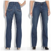 $104  Not Your Daughter's Jeans Blue Barbara Modern Bootcut Stretch Jeans - $31.34