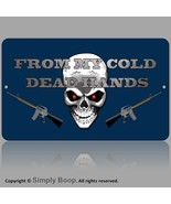 MAN CAVE 2nd Amendment Guns From My Cold Dead Hands Mancave Gun Store Bl... - $16.82