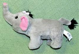 "Disney Baby April The Elephant 10"" Dob April 3 2010 Stuffed Animal Plush Grey - $14.85"