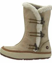 Merrell Spirit Tibet High Timber Leather Oyster Thinsulate Boots Women's Shoe 6 - $47.27