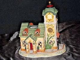 Old World Village #4The Clocktower AA18-1373 Vintage image 1