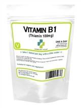 VITAMIN B1Thiamin Thiamine 100 tablets 100mg, neuritis energy Metabolism... - $6.65