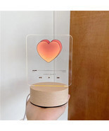 Romantic Player Heart 3D Light Lamp | Cute Heart Insta Light For Bedroom... - $40.00