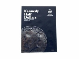 Kennedy Half Dollars # 2, 1986 - 2003 Coin Folder/Album by Whitman - $5.99