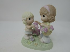 ENESCO '06 PRECIOUS MOMENTS FIGURINE MOM YOU ARE BOUQUET OF LOVE & UNDER... - $9.85