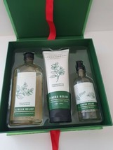 New Bath & Body Works Stress Relief Gift Box Set Pillow Mist, Body Wash,... - $37.39