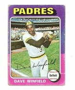 Vintage Topps #61 Topps Dave Winfield San Diego Padres Baseball Card - 1975 - $16.00