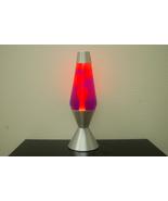 16.3 inch 52oz Lava Brand Motion Lamp Purple Liquid Yellow Wax - $44.95