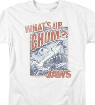 Jaws Whats up Chum? retro 70s 80s classic movie graphic t-shirt UNI537 image 3