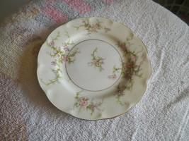 Theodore Haviland (New York) bread plate (Rosalinde) 8 available - $7.43