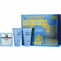 Versace Man Eau Fraiche Edt Spray 1.7 Oz and Aftershave Balm 1.7 Oz and ... - $66.34