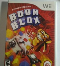 Boom Blox - Nintendo Wii 2008. Complete. Tested - $7.38