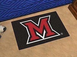 NCAA -  Miami (OH) Starter Rug 19 inch x30 inch   - $34.99