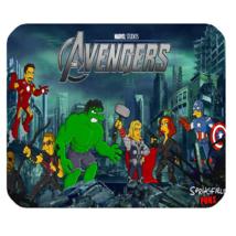 Mouse Pad The Avengers Cartoon Animation Marvel Superheroes Movie Comic Books - $9.00
