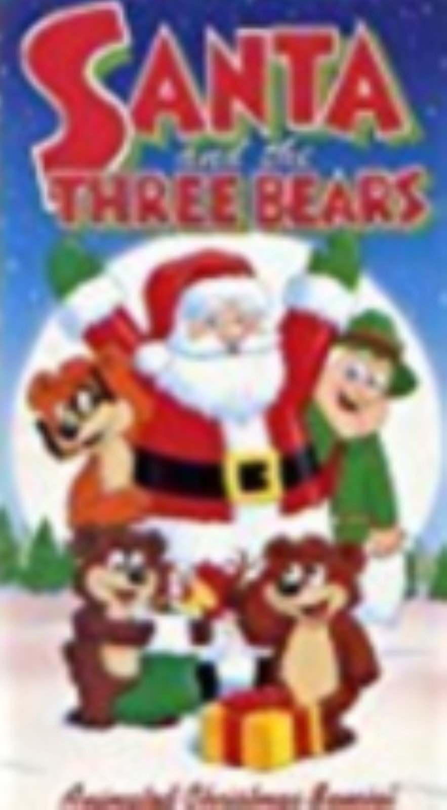 Santa and the Three Bears Vhs