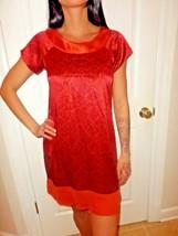 CYNTHIA STEFFE SHORT SLEEVE SILK DRESS SIZE 0 EUC - $19.79