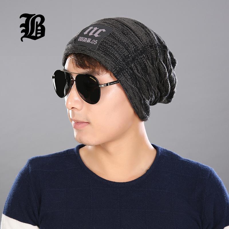57474a75edd Male Cap Men Beanie Caps Boys Winter Hats For Man Knitted Beanies Hat  Stripes