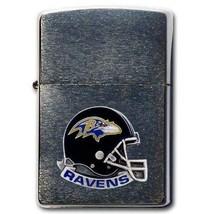 Iconic Retired NFL Baltimore Ravens Helmet Zippo Lighter - $56.95