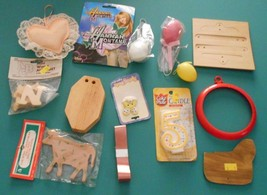 Lot of MIsc Crafting Supplies Easter Pin Eggs P... - $9.89