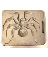 creepy crawler spider tarantula mold metal bug insect vintage toys matte... - $9.99