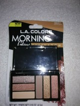 L.A. Colors 6-Color Compact Eyeshadow Palette w/Mirror - *MORNING GLOW* - $1.48