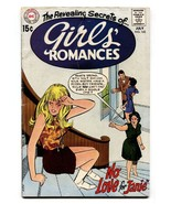 GIRLS' ROMANCES #142-D.C. ROMANCE-SILVER AGE comic book - $22.35