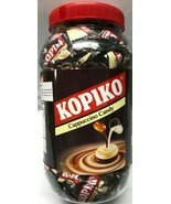 1 Jar, Kopiko Cappuccino Candy or Coffee Candy 28.2 Oz Bulk 200 Pieces o... - $15.78