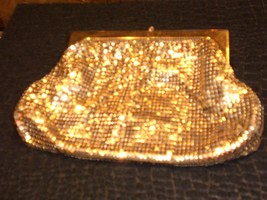 Gold Lame' Clutch by Whiting and Davis Co. - $77.40