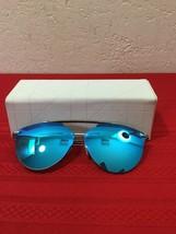 Christian Dior ReflectedP/S S62/RQ Ruthenium/Blue Crystal Sunglasses 56/21/140 - $200.00