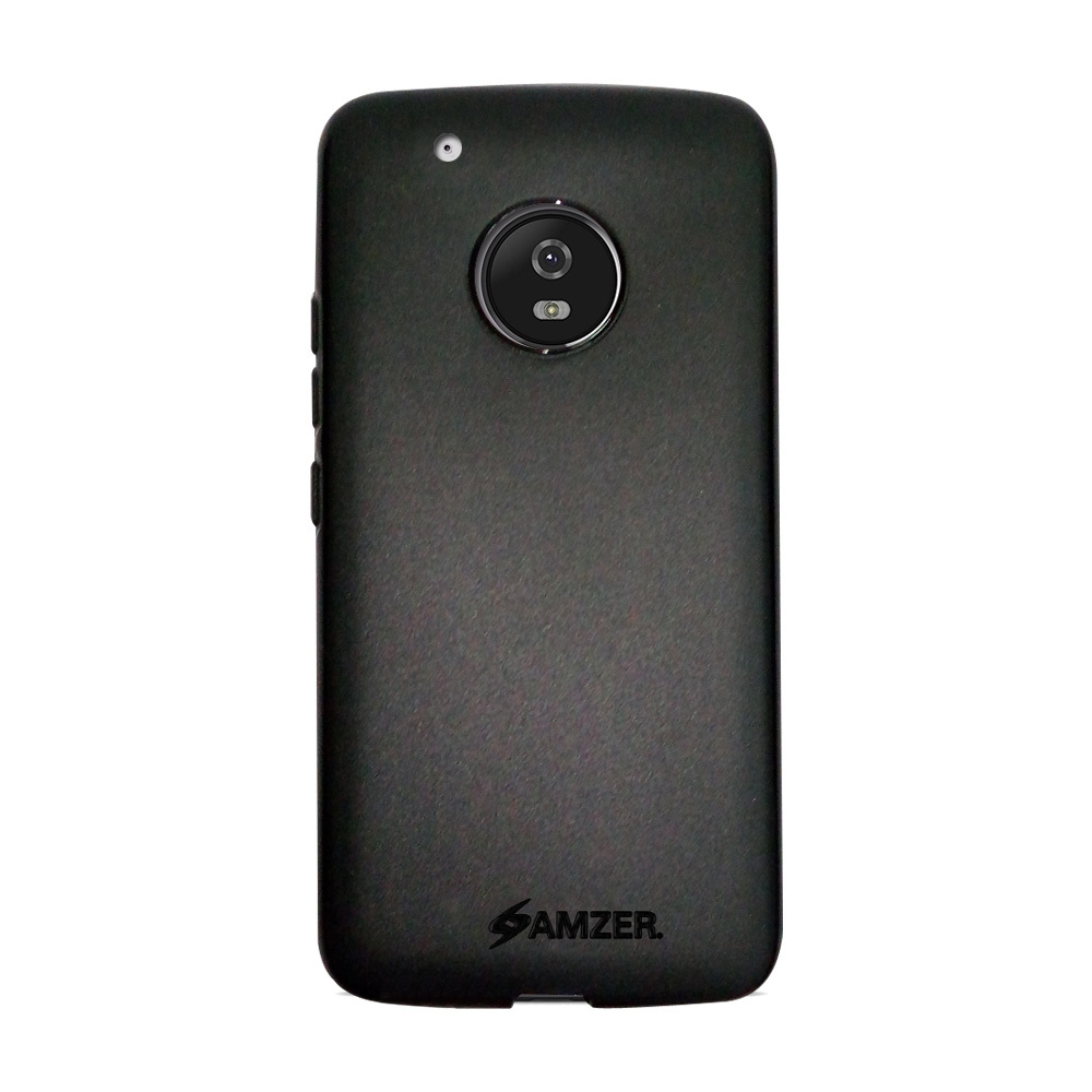 Amzer Pudding TPU Case - Black for Motorola Moto G5